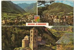 Valls D´Andorra 53 Les Escaldes Canillo   Timbrée - Andorra