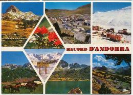 Valls D´Andorra 3076  Timbrée 1987 - Andorra