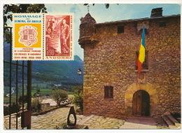 Valls D´Andorra   Andorra La Vella  220 T Capital De Les Valls  Hommage General De Gaulle - Andorre