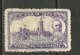 France 1900 EXPOSITION UNIVERSELLE Paris ALGERIE O - 1900 – Paris (Frankreich)