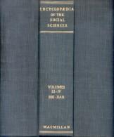 ENCYCLOPAEDIA OF THE SOCIAL SCIENCES EDWIN R.A. SELIGMAN ALVIN JOHNSON THE MACMILLAN COMPANY VOLUME THREE  1957  800 PAG - Psychologie