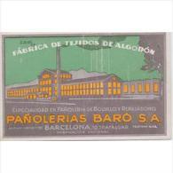 PUTP1810CPA-LFTMD670TOCSC. Tarjeta Postal De España.Barcelona.PAÑOLERIA BARO.Barcelona - Comercio