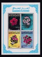 Flore Fleurs Des Jardins Et Du Désert - Emirats Arabes Unis