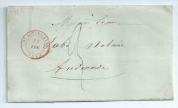 1848 St Ghislain A Audenarde - 1830-1849 (Belgique Indépendante)