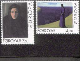CEPT Berühmte Frauen / Famous Women Färöer 296 - 297   ** Postfrisch, MNH, Neuf - Europa-CEPT