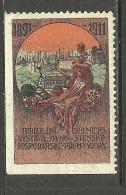 TSCHECHOSLOWAKEI 1911 Reklamemarke Vignette Ausstellung MNH - Tchécoslovaquie