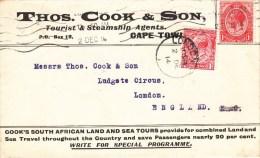 Env Affr Y&T 140 + Idem Perforé Obl LONDON Du 2.12.14 - 1902-1951 (Rois)