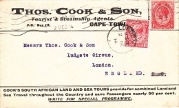 Env Affr Y&T 140 + Idem Perforé Obl LONDON Du 2.12.14 - 1902-1951 (Kings)