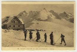 LARUNS   -   Sport D'hiver Au Col D'Aubisque, L'hôtel, Carte Animée  -  Ed. Labouche, N° 6 - Laruns