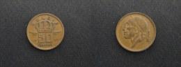 1970 - 50 CENTIMES BAUDOIN I - LEGENDE FLAMANDE BELGIE - BELGIQUE - 1951-1993: Boudewijn I