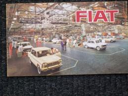 DEPLIANT  FIAT LA PRODUZIONE      STUPENDO - Cars