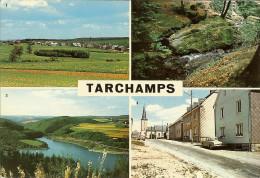 """CP De TARCHAMPS """" Vue Génarale , Coin Pittoresque , Vue Sur Le Lac , Rue Principale """" - Wiltz"""
