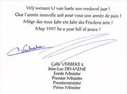 Mr Jean-Luc Dehaene