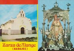 ZARZA DE ALANGE (Badajoz). Imagen E Iglesia De Nuestra Señora De Las Nives - Badajoz