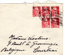 Stempel 1949  Nogent Le Rotrou - Covers & Documents