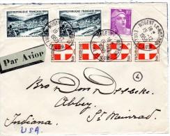 Stempel 1950  Nogent Le Rotrou - Covers & Documents