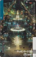 Télécarte Ancienne Japon / NTT 430-017 - SAPPORO ILLUMINATIONS  - JAPAN Front Bar Barcode Phonecard / TBE - Balken TK - Japon
