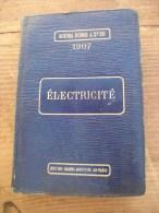 "Agenda Dunod ""Electricité"" 1907 - Blank Diaries"