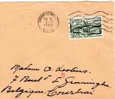 Stempel 1952  Nogent Le Rotrou - Covers & Documents