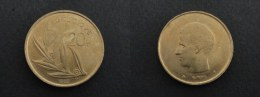 1980 - 20 FRANCS BAUDOIN I - LEGENDE FRANCAISE BELGIQUE - BELGIQUE - BELGIUM - 07. 20 Francs