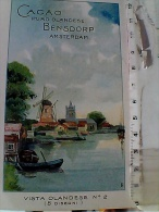 ILLUSTRATA CACAO PURO OLANDESE BENSDORP AMSTERDAM ILLUSTRAZIONE PUBBLICITA  VB1912 OCCHIEPPO INF. SONDRIO ES15925 - Fine Arts