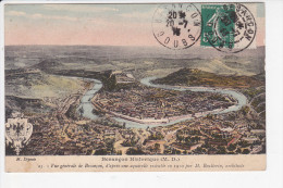 BESANCON (25-Doubs), Besançon Historique (M.D.) Vue Générale D'après Une Aquarelle De Boutterin Architecre, Blason, 1913 - Besancon