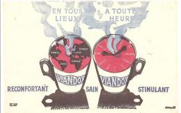 Buvard VIANDOX En Tout Lieux A Toute Heure - Sopas & Salsas