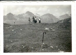 Photo Originale De En Montant Aux Evettes - Non Classés