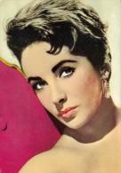 ACTRICE : ELIZABETH TAYLOR - CARTE POSTALE ANCIENNE - OSCAR COLOR / SPAIN ~ 1960 - 1965 (r-898) - Actors