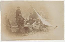 Real Photo Gypsies Sent From Cornhill On Tweed , Roms, Tziganes , Gitans - Otros