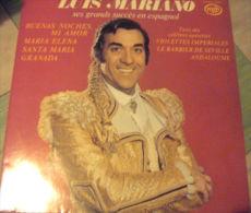 """Album 33t/12\"""".   LUIS MARIANO. Ses Grands Succes En Espagnol. - Opéra & Opérette"""