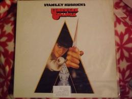 "Album 33t/12\"". STANLEY  KUBRICKS.  Uhrwerk  Orange.   1972. - Musique De Films"