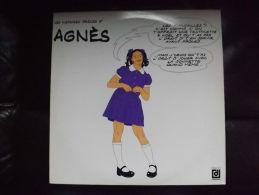 """Album 33t/12\"""".LES HISTOIRES DROLES D'AGNES. - Comiques, Cabaret"""