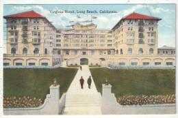 Virginia Hotel, Long Beach, California - 1920 - Long Beach