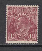 1918 - 1920   YVERT  Nº   34    / * / - 1913-36 George V : Têtes