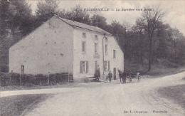 FLORENVILLE  La Barrière Vers Orval Animé Avec Petit Attelage 'a Pas Circulé - Florenville