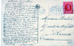 2587 Postal Ostende 1930 Belgica - Bélgica