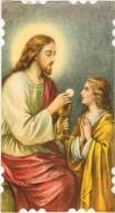 IMAGE PIEUSE RELIGIEUSE HOLY CARD SANTINI : La Communion - Images Religieuses