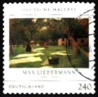 Bund / Germany: 'Malerei - Max Liebermann - Selbstklebend - Self-adhesion, 2013', V Mi. 2979; Yv. 2800 Oo - Gebraucht