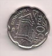 MONEDA 50PTAS LEXTREMADURA 1993 - [ 5] 1949-… : Reino