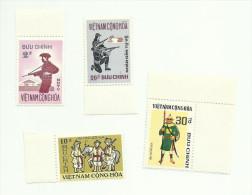Vietnam Du Sud N°433, 435, 438, 439 Neufs** Cote 2.45 Euros - Vietnam