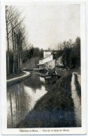 77 - MEAUX - Platrières- Port Sur Le Canal De L'Ourcq, Péniche - Meaux