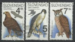 SLOVAKIA 1994 - BIRDS - CPL. SET - USED OBLITERE GESTEMPELT USADO - Slovakia