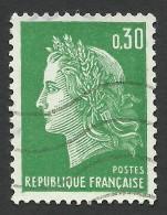 France, 30 C. 1969, Sc # 1231C, Mi # 1649, Used - 1967-70 Marianne Of Cheffer