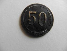 Jeton ;Non Classé  Chiffres  50 - Non Classés