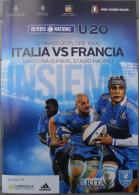 Programma Rugby Italia -  Francia  Six Nations/Sei Nazioni 2015 Under 20 - San Dona' Di Piave 13 Marzo 2015 - Rugby