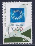 Greece, Scott # 1974 Used Olympics Emblem, 2000 - Greece