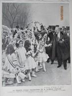 1913 / Raymond Poincaré  President  Et Pitchounettes De  MONTPELLIER - Old Paper