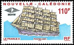 New Caledonia - Nouvelle Caledonie - 2001 - ( Sailing Ship France II ) - MNH (**) - Nueva Caledonia