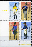A10-03-6) DDR - Michel 2997 II / 3000 II DV - ** Postfrisch (A) - Historische Postuniformen - [6] Democratic Republic